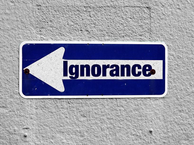 Frasi sull'ignoranza