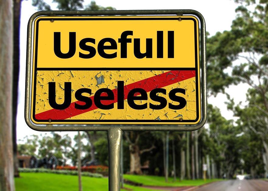 Frasi sulla inutilità