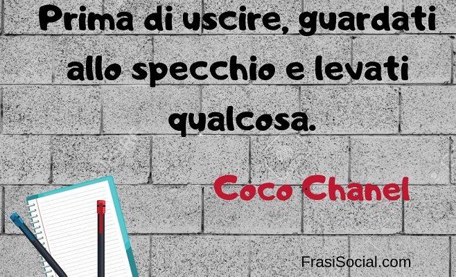 Coco Chanel Le Fantastiche Frasi Della Grande Stilista Frasi Social