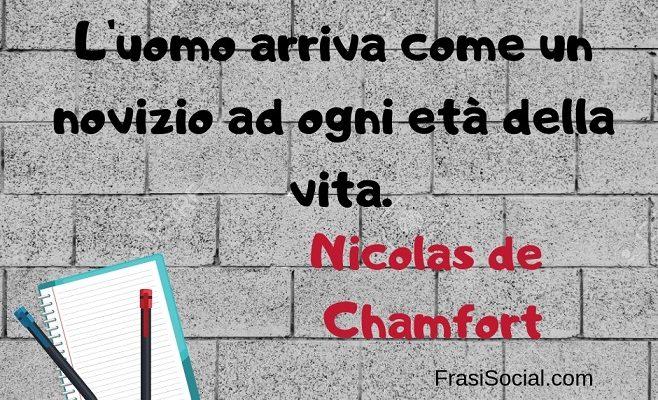 Nicolas de Chamfort frasi belle