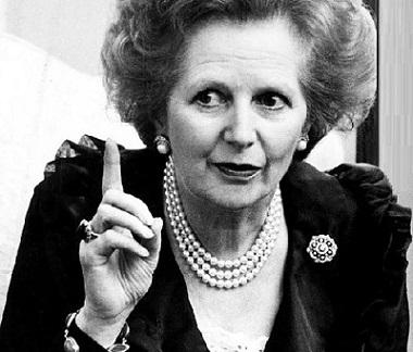 Margaret Thatcher frasi