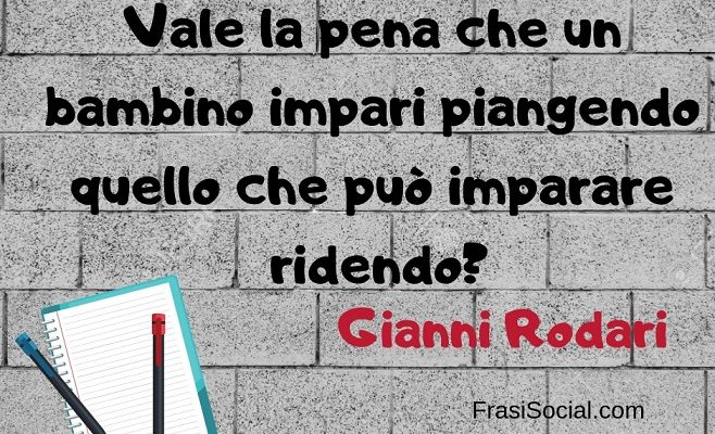 Gianni Rodari frasi
