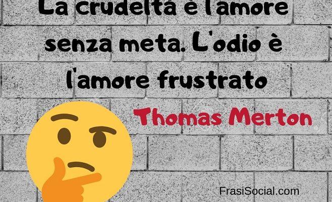 Thomas Merton frasi