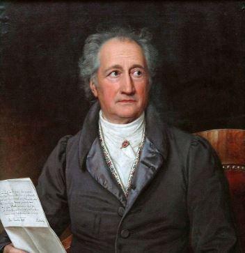 von Goethe frasi