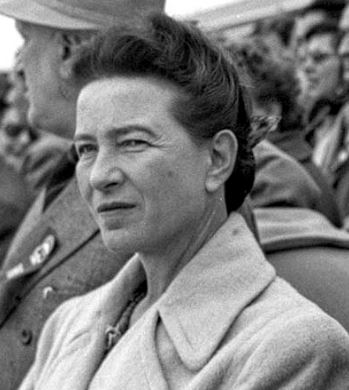 Simone de Beauvoir frasi