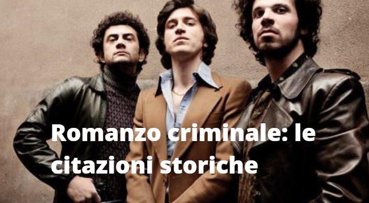 Romanzo Criminale frasi storiche